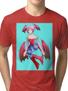 Lilith Darkstalkers Tri-blend T-Shirt