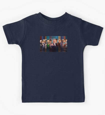 Dr. Who - Doctors Kids Tee