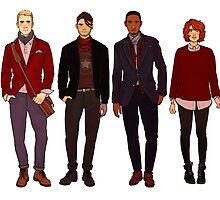 winter fashions caws crew by cargsdoodles
