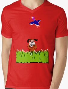 Duck Hunt Mens V-Neck T-Shirt