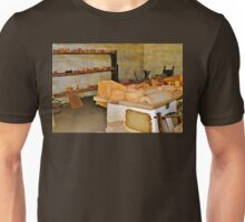 Pottery Shop in the Mission Unisex T-Shirt