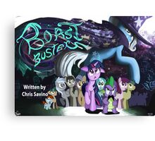 Boast Busters : MLP FIM Title card series  Canvas Print