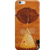 The birds love my hair iPhone Case/Skin