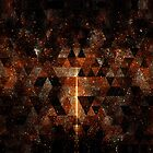 Gold beam in geometric sparkly universe by PLdesign