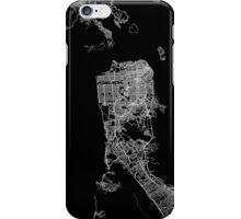 San Francisco map California iPhone Case/Skin