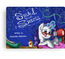 Suited for Success :MLP FIM title card series  Canvas Print