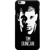 Tim Duncan iPhone Case/Skin
