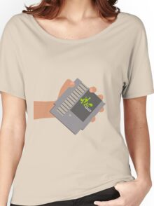 Vsauce outro NES cartridge Women's Relaxed Fit T-Shirt