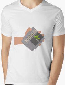 Vsauce outro NES cartridge Mens V-Neck T-Shirt