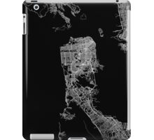 San Francisco map California iPad Case/Skin