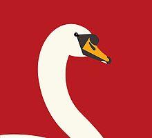 Swan by Mark Walker