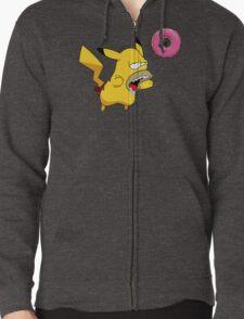 Homer-chu Zipped Hoodie