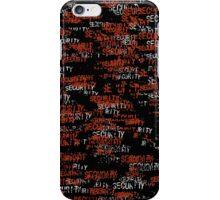 Secure my iPhone III iPhone Case/Skin
