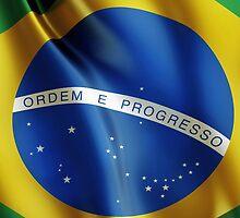 Brazil flag by mikath