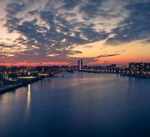 Panorama Zeeburg Amsterdam by martijndevalk