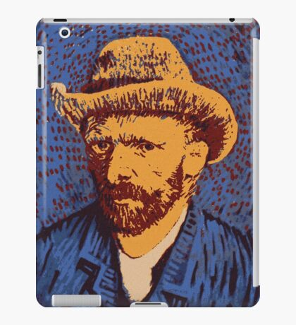 Vincent Van Gogh portrait iPad Case/Skin
