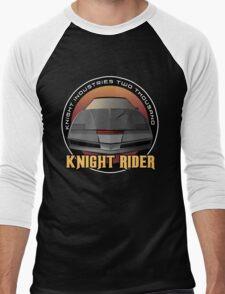 Knight Rider Logo KITT Car Men's Baseball ¾ T-Shirt