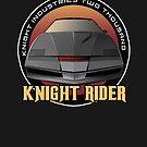 Knight Rider Logo KITT Car by Creative Spectator