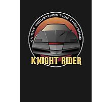 Knight Rider Logo KITT Car Photographic Print