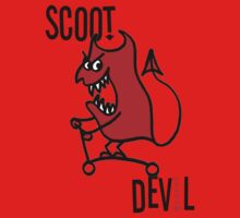 Scoot Devil (Large) One Piece - Long Sleeve