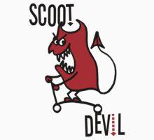 Scoot Devil (Large) One Piece - Short Sleeve