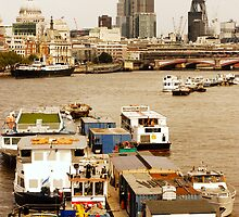 Thames, London by Stafnmar