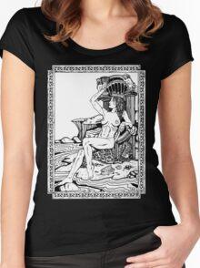 Tarot: Queen of Cups Women's Fitted Scoop T-Shirt