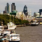 Thames, London by Stafnmar