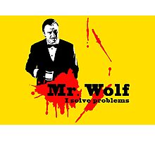 Mr. Wolf Photographic Print