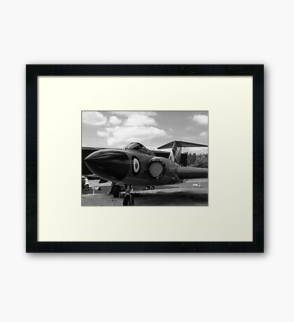 Gloster Javelin F(AW)9 aircraft Framed Print