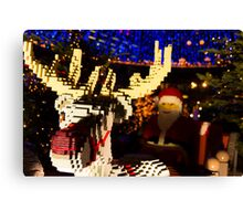 LEGO Santa Claus Canvas Print