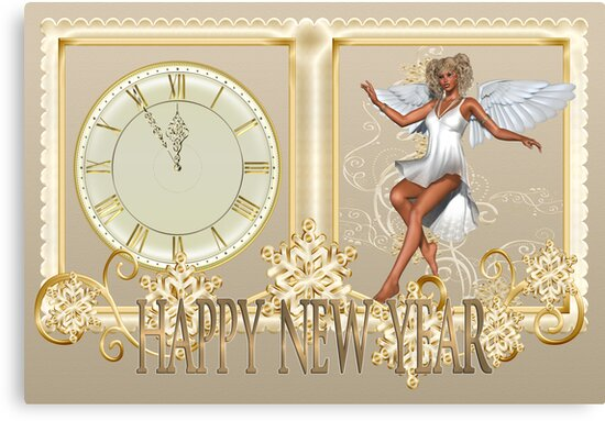 Angel of the New Year by LoneAngel