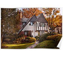 Autumn - Westfield, NJ - Visting grandpa's  Poster