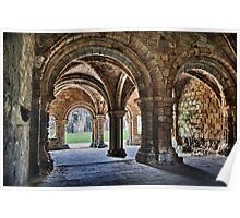 Kirkstall Abbey Chapter House (HDR) Poster