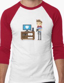 Nerd 4 Life Men's Baseball ¾ T-Shirt