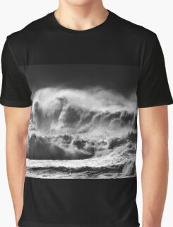 Winter Waves At Pipeline Graphic T-Shirt