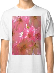 Pink Cherry Blossoms  Classic T-Shirt