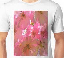 Pink Cherry Blossoms  Unisex T-Shirt
