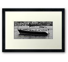 Lonely little boat Framed Print