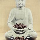 Coffee beans Buddha by Falko Follert