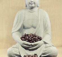 Coffee beans Buddha by Falko Follert