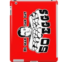 Cool Hand Luke: No man can eat 50 eggs iPad Case/Skin