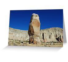 Chimney Rock, Kodachrome Basin State Park, Utah Greeting Card