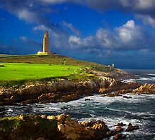 Hercules Tower lighthouse by ollodixital