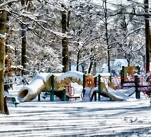 Winter Playground by Susan Savad
