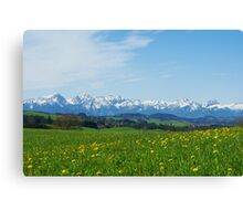 Alps, Germany Canvas Print