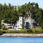 The old Sodus Point Light by wolftinz
