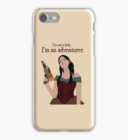 I Am Not A Lady [ Ipod / Iphone / Print ] iPhone Case/Skin