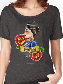 Maria Poppins lady head Women's Relaxed Fit T-Shirt