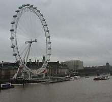 London Eye by jredbubble